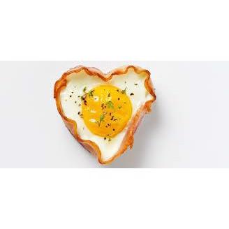 Image of   Hjerteform til æg