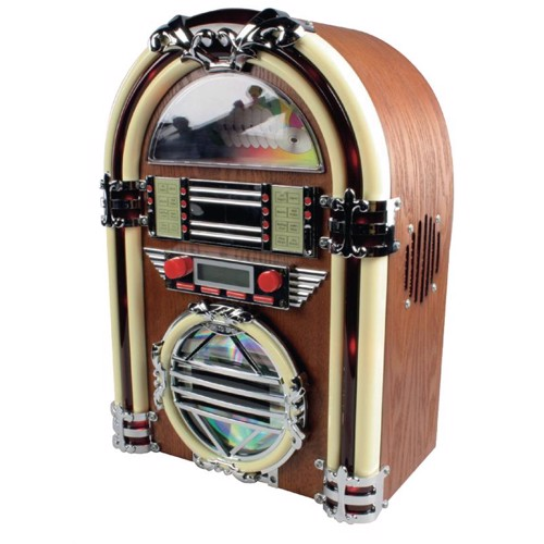 Image of   Jukebox med AM/FM-radio og CD-afspiller
