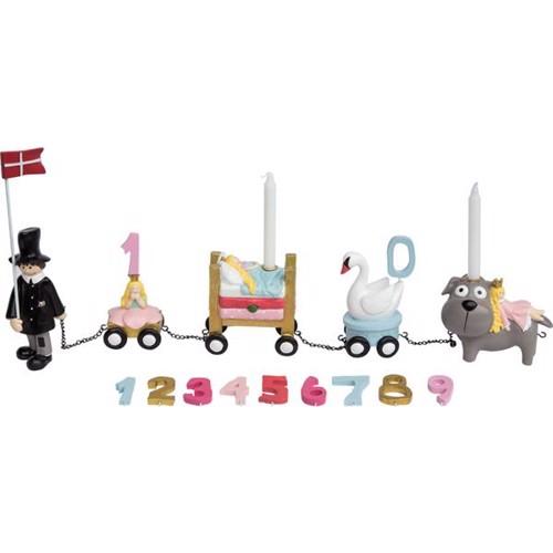 Image of   Friisenborg Fødselsdagstog, H.C. Andersen eventyr, pige - KIDS by FRIIS