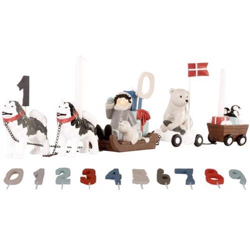 Image of   Friisenborg Fødselsdagstog Hundeslæde, KIDS by FRIIS